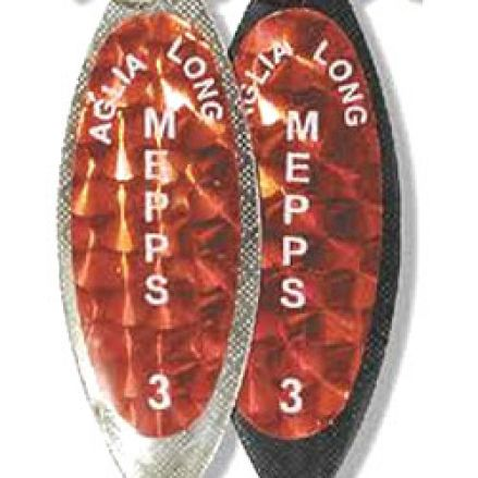 Блесна Mepps Aglia Long Redbo Silver
