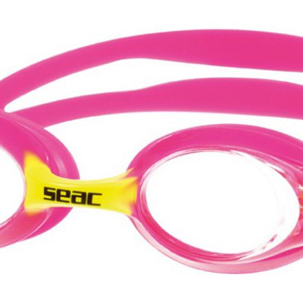 Seac Sub Bubble Swimming Goggles For Kids (pink)