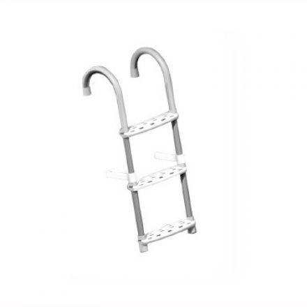 Aluminum boat ladder
