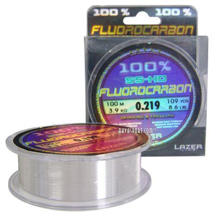 Флуорокарбоново влакно Lazer Fluorocarbon SS-HD (100м)