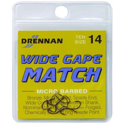 Куки Drennan Wide Gape Match
