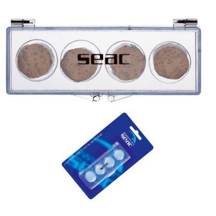 Тапи за уши силиконови, плътни Seac Sub