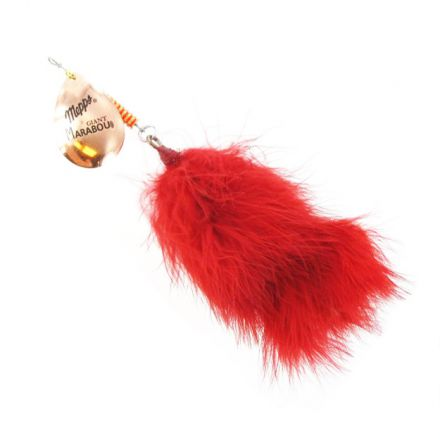 Блесна Mepps Giant Marabou Copper Red