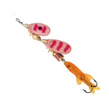 Mepps Perch Tandem Copper/Red