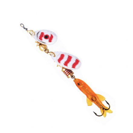 Mepps Perch Tandem Silver/Red