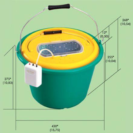 Кофа за жива рибка Plastica Panaro 116/18 литра
