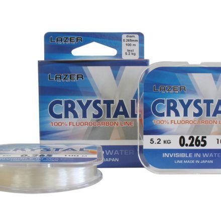 Флуорокарбоново влакно Lazer Crystal X (100м)