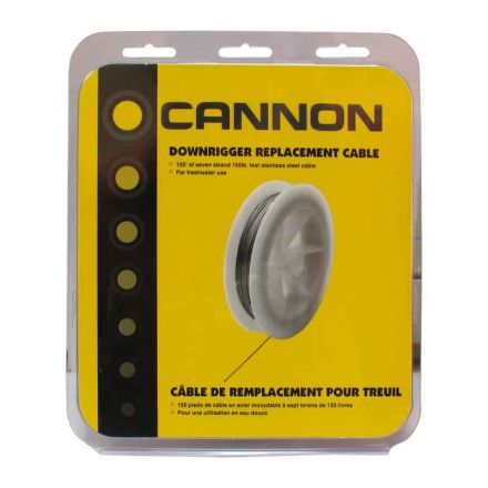 Cable for Downrigger Cannon