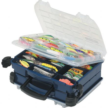 Plano 3952-10 Double Cover, Double Sided Lockjaw Tackle Organizer