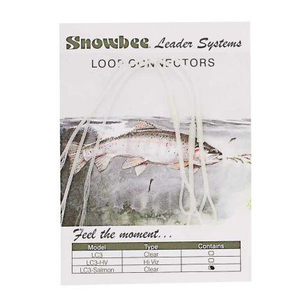 Накрайник за мухарски шнур Snowbee LC3 Salmon