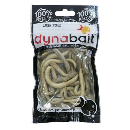 Dynabait Freeze Dried Earth Worms