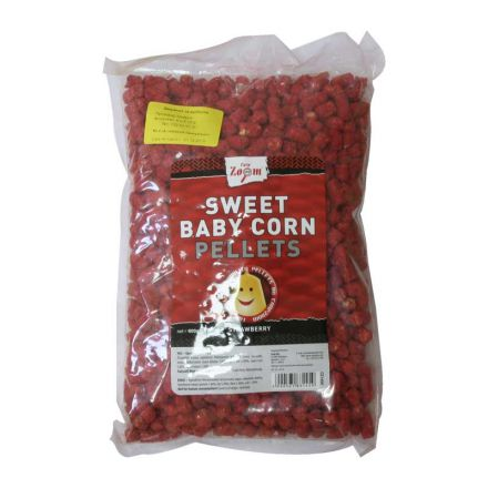 Пелети Carp Zoom Sweet Baby Corn Pellets Strawberry (ягода)