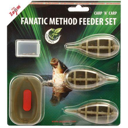 Комплект за метод фидер Carp Zoom Fanatic Method Feeder Set