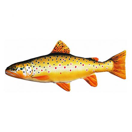 Brown Trout Fish Pillow