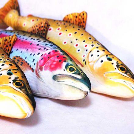 Възглавница-риба Дъгова пъстърва