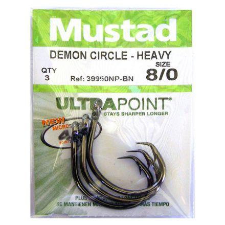 Куки Mustad 39950NP-BN Demon Circle - Heavy Hooks