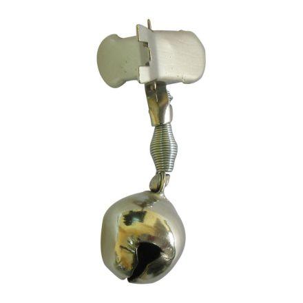 Звънче с щипка Bell 08 - метално единично