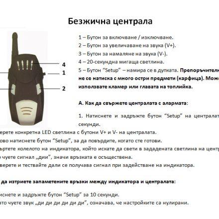 Сигнализатори FilStar 3+1 FSBA02 комплект