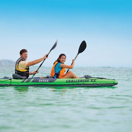 Intex Challenger K2 Inflatable Kayak Two Persons