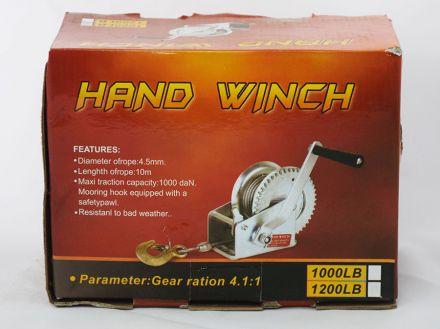 Trailer Hand Winch