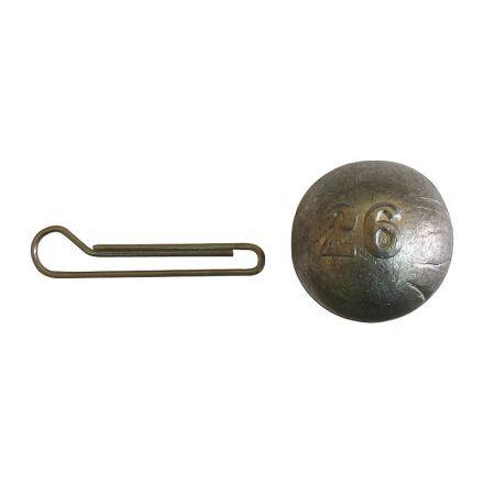 Джиг-глава кръгла с подвижна карабинка