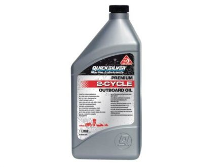 Quicksilver Premium 2 Stroke Oil 1L