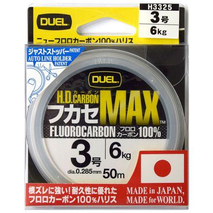 Флуорокарбон Duel H.D. Carbon MAX 100% (50 м)