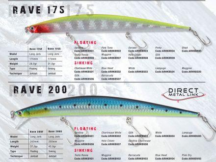 воблер Herakles Rave 175F