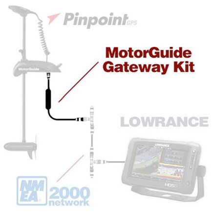 Motorguide Gateway Kit Diagram
