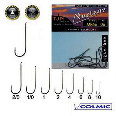 colmic MR66 fishing hooks