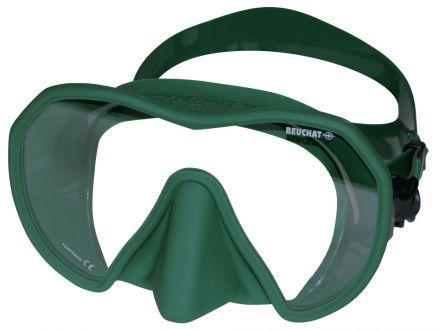 Силиконова маска Beuchat MaxLux (зелена)