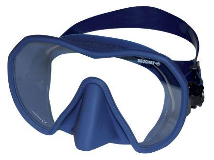 Силиконова маска Beuchat MaxLux (синя)