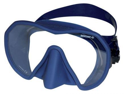 Силиконова маска Beuchat MaxLux S (синя)