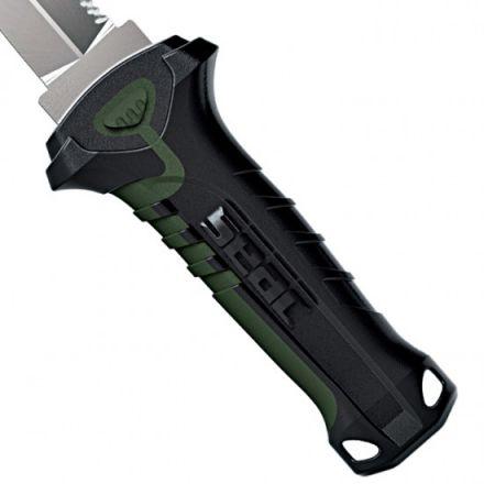 Водолазен нож Seac Sub Katan Daga (зелена ивица на дръжката)