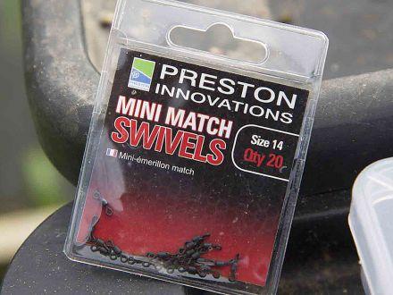 Вирбели Preston Innovations Mini Match Swivels