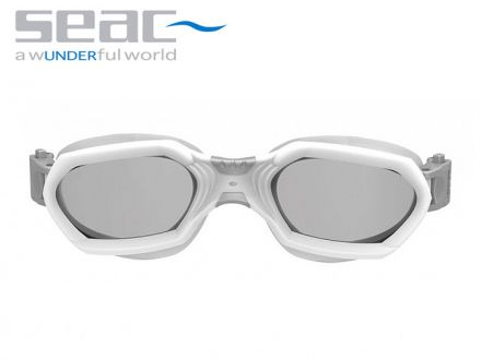 Seac Sub Aquatech Swimming Goggles (white / silver)