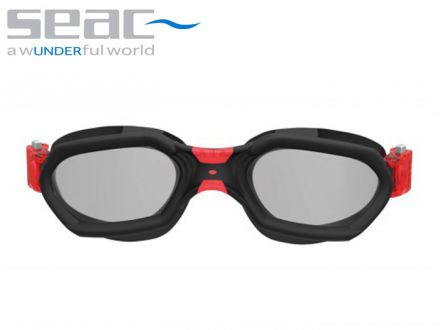 Seac Sub Aquatech Swimming Goggles (black / red)