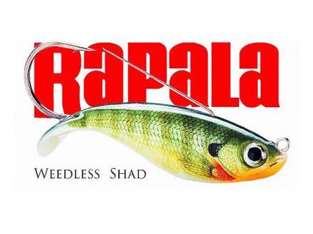 воблер Rapala Weedless Shad