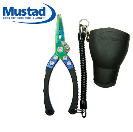 Mustad MT007 Hybrid Pliers With Rubber Holster