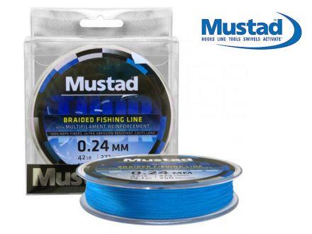 плетено влакно Mustad Thor ML013 Blue 110м