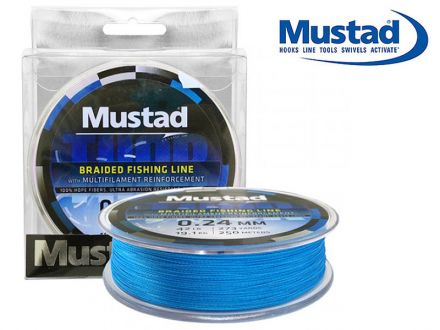 плетено влакно Mustad Thor ML015 Blue 250м