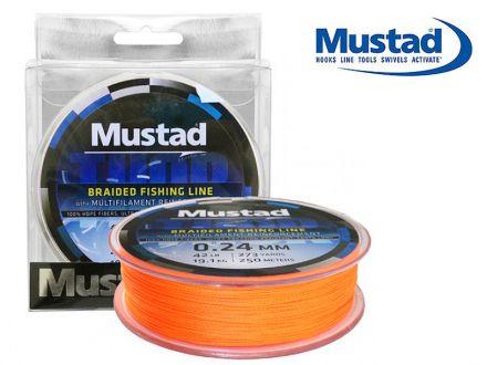 Плетено влакно Mustad Thor ML016 Orange 250м