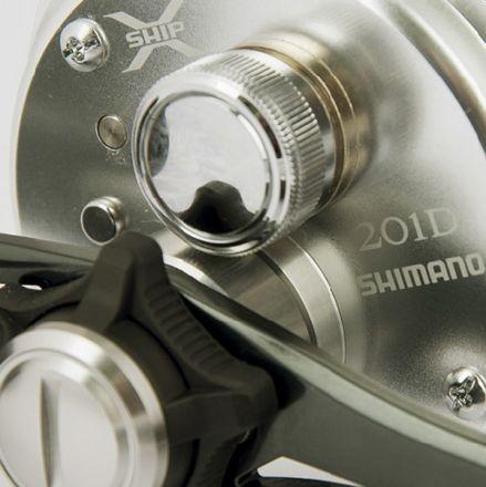 Мултипликатор Shimano Calcutta 201D (лява ръка)