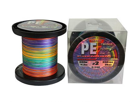 Lazer PE Braid Multicolor 600m