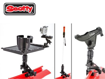 scotty No.433 Coaming / Gunnel Clamp Mount