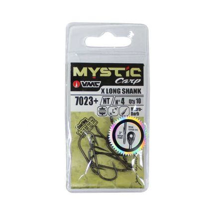 VMC 7023+ NT Long Straight Shank Hooks