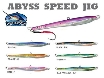 Пилкер Williamson Abyss Speed Jig