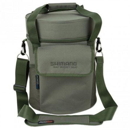 Чанта Shimano Olive Bait Bucket Seat