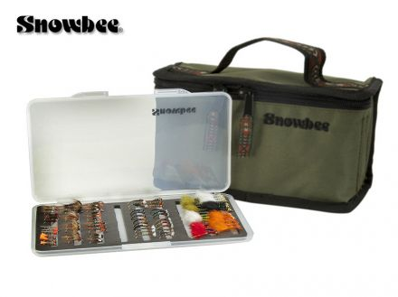 Мухарска чанта Snowbee Slimline Fly Box Kit