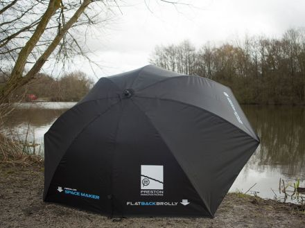 чадър Preston Innovations Space Maker Flat Back Brolly
